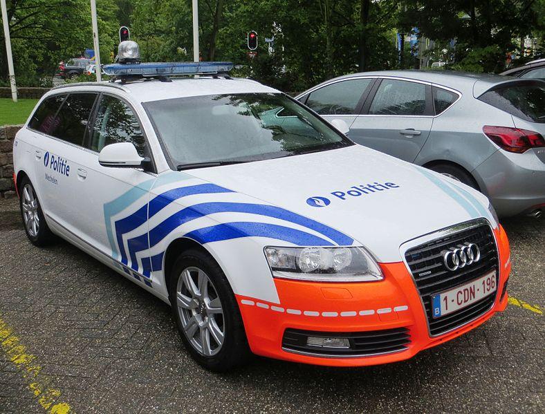 """veldslag op snelwegparkings"" ( België)."